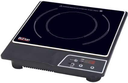 Max Burton 6000 1800 Watt Portable Induction Cooktop Review