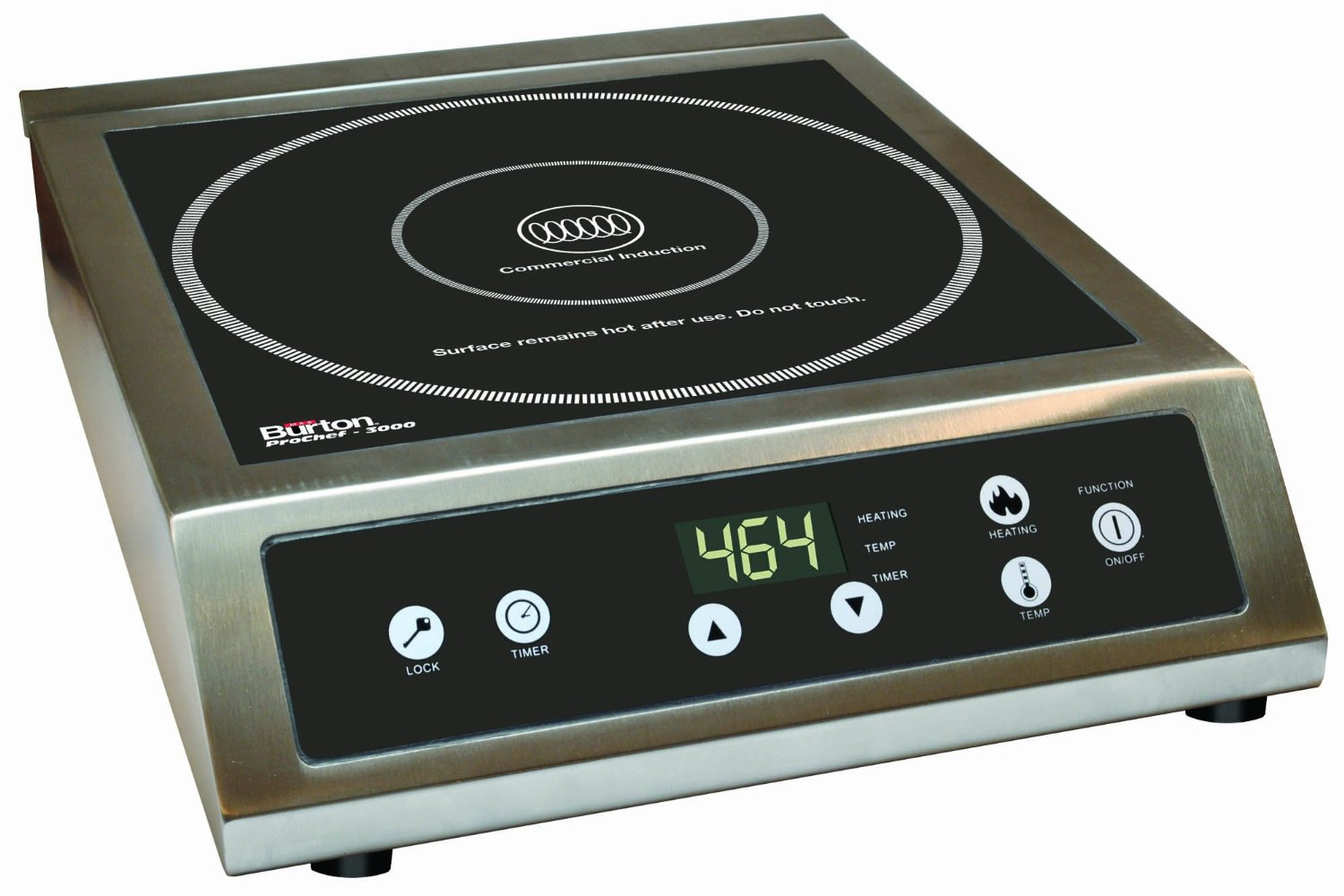 Commercial Induction Cooker ~ True induction s f counter inset double burner
