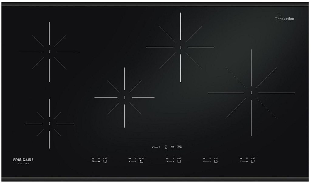 Frigidaire FGIC3667MB 36 inch Black Electric Induction Cooktop