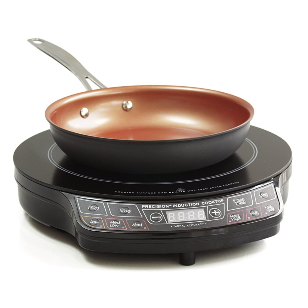 NuWave Precision Induction Cooktop (PIC) 14.5 Inch with Hard Anodized 9 Inch Fry Pan – Review