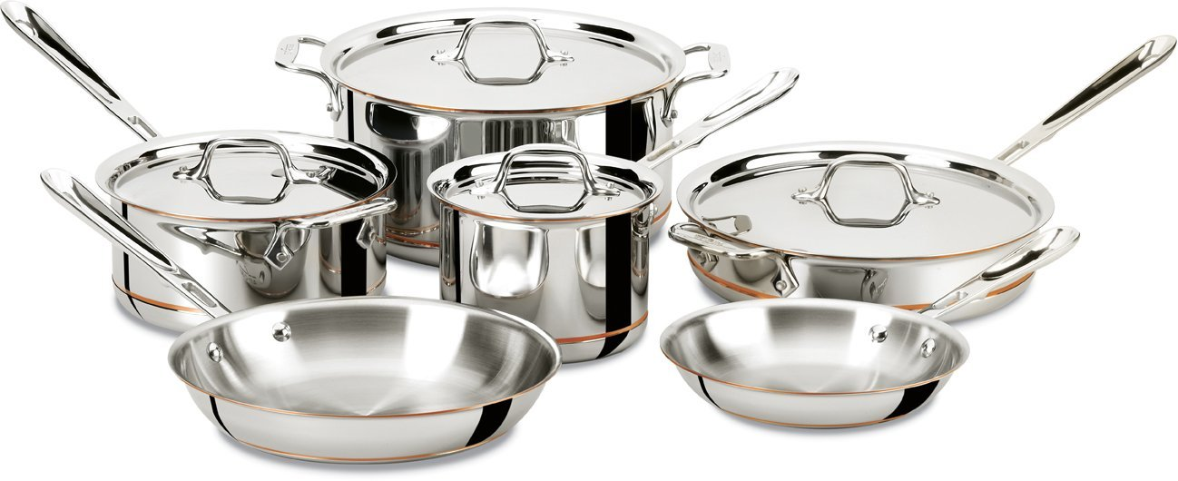 all-clad-600822-ss-copper-core-5-ply-bonded-dishwasher-safe-cookware-set-10-piece-silver