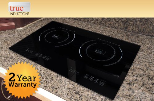 True Induction S2f3 Counter Inset Double Burner Cooktop 120v Black